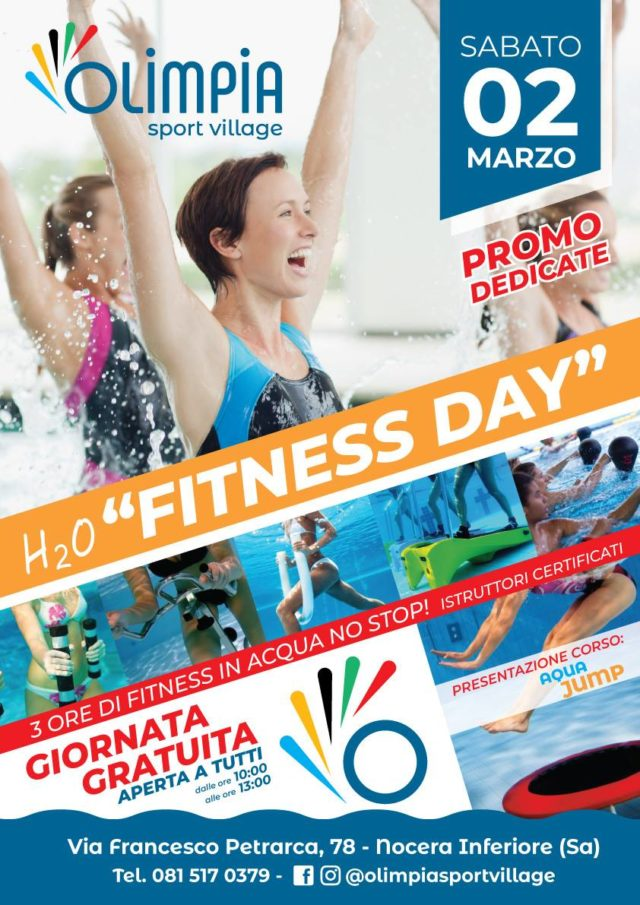 2 Marzo FITNESS DAY!