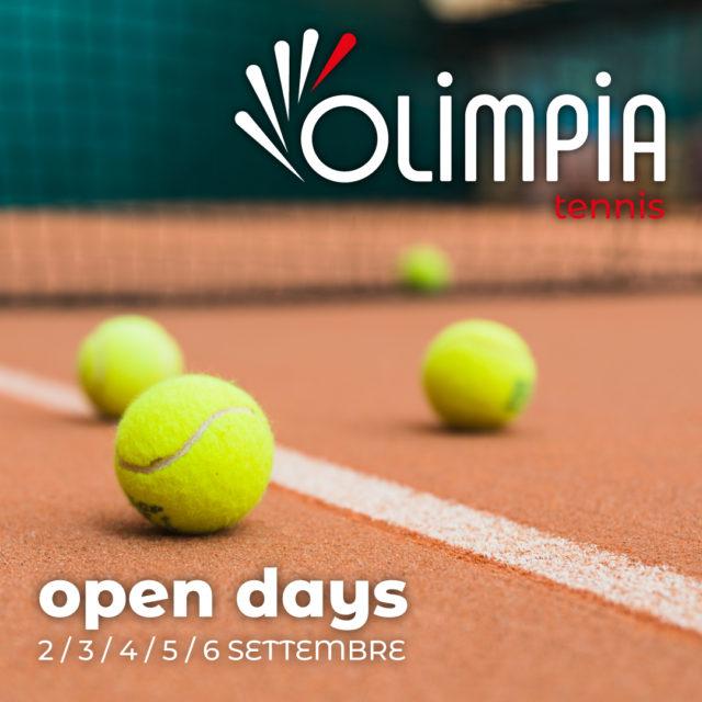 open days scuola tennis 2019
