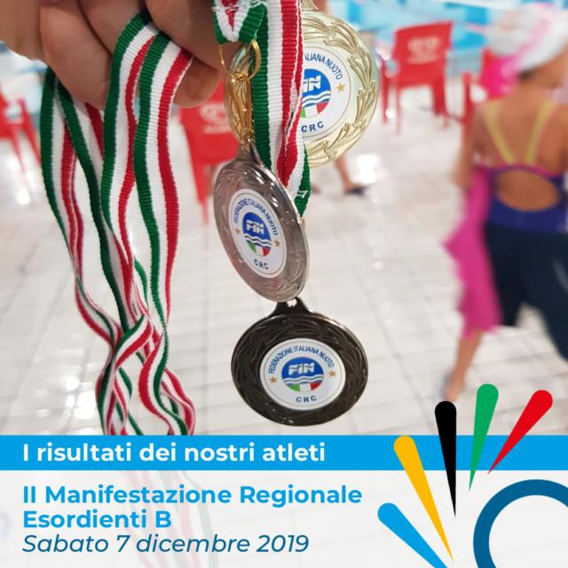 2°MANIFESTAZIONE REGIONALE ESORDIENTI 2019 / 20  FIN CAMPANIA