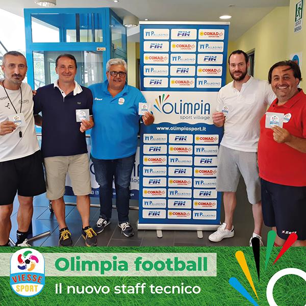Matteo Pastore nuova figura nello staff tecnico della scuola calcio Olimpia football