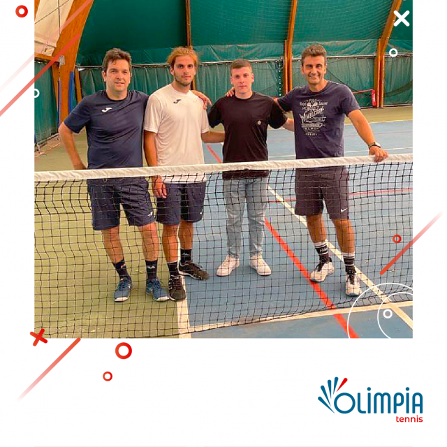 Olimpia Tennis Maschile: PROMOSSI IN D1!